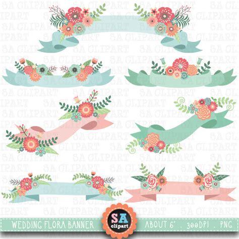 Wedding Banner Clipart by Wedding Banner Clipart Wedding Floral Banner Clip