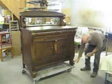 Restoring an Oak Sideboard   Thomas Johnson Antique