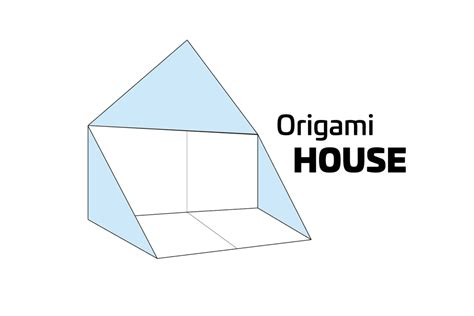 How To Make A Paper House - how to make a simple origami house