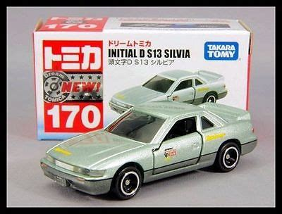 Takara Tomy Tomica Initial D S13 Takara Tomy Tomica 170 Initial D Nissan S13