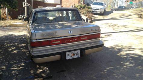 how petrol cars work 1992 dodge dynasty user handbook 1992 dodge dynasty ls sedan 4 door 3 3l for sale dodge dynasty 1992 for sale in