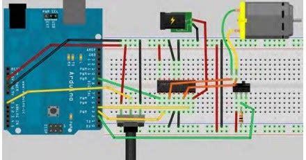 Komponen Ic Mc33886vw Driver Motor Chip read n write menggunakan ic motor driver l293d