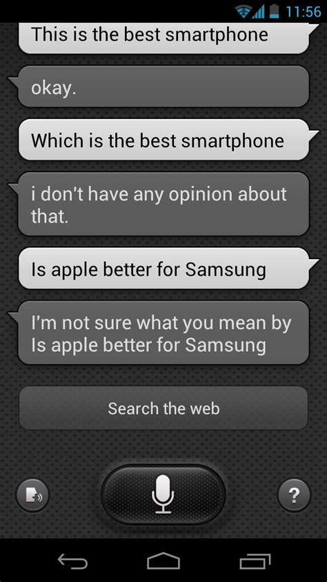 what is android s version of siri network error fixed s voice apk samsung s siri like app for voice commands on android