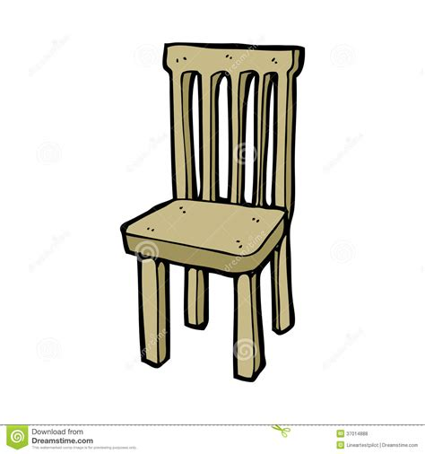 Chair Illustration by Wooden Chair Stock Vector Image Of Character