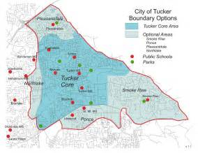 the city of tucker initiative the proposed new city of