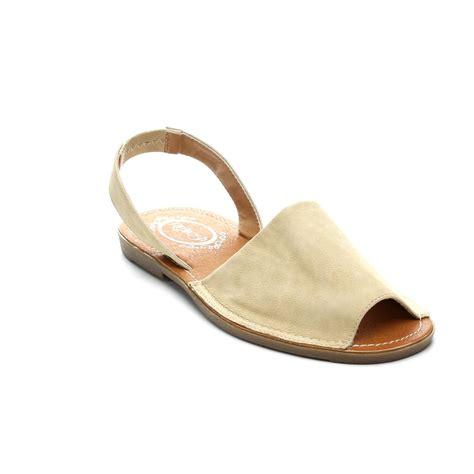 peep toe sandals flat refresh clori 01 womens faux leather peep toe slingback