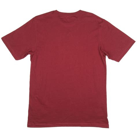 maroon merch lrg research roots t shirt maroon