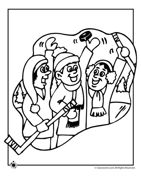 preschool hockey coloring pages hockey team coloring page woo jr kids activities