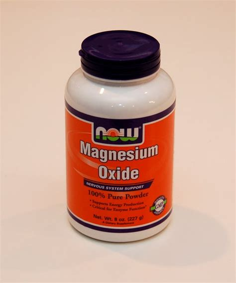 Magnesium Oxide Best To Detox Cells by Magnesium Oxide Powder