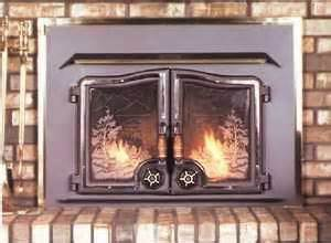 lovely wood fireplace doors 9 country wood stove