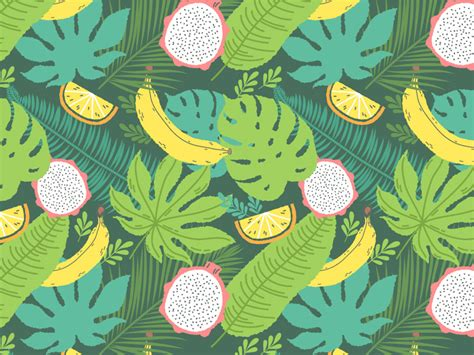 pattern illustrator tutorial how to create a tropical pattern in adobe illustrator