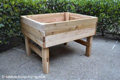 raised garden bed with legs 15 cheap easy diy raised garden bed ideas