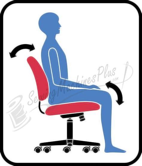best ergonomic sewing chair sewergo score ergonomic sewing operator chair 200se