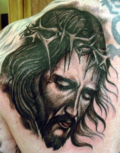 hope gallery tattoo gallery tattoos black and gray jesus