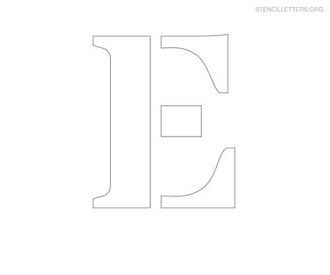 printable jumbo letter stencils 9 best images of large printable stencils free large