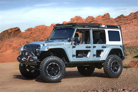 Jeep Prototype Jeep Switchback Concept Gearmoose