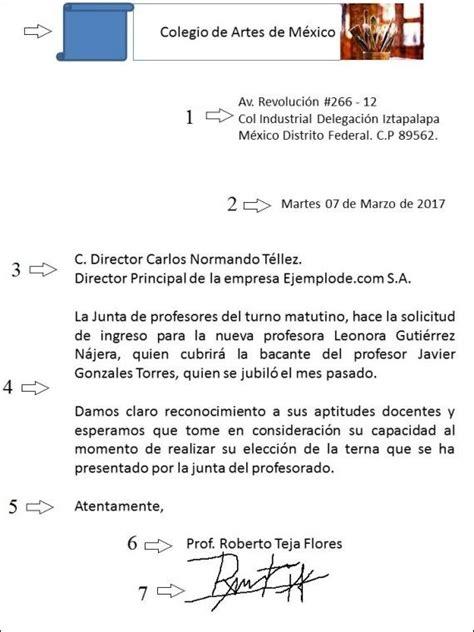 Carta Formal Al Director pr 225 ctica carta formal ofim 225 tica 2 186 fpb