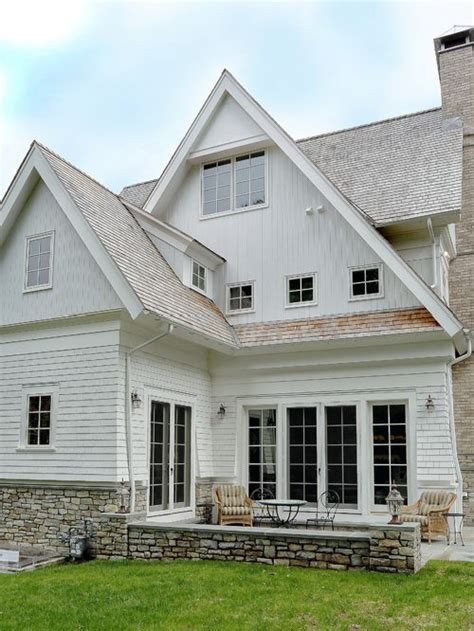 white siding house white siding houzz