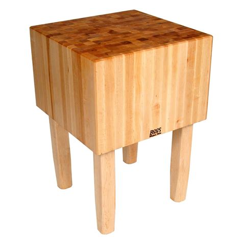 boos aa02 16 quot maple top butcher block work table 24