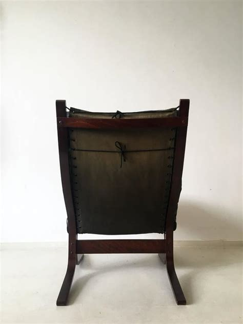 High Back Chair With Ottoman Siesta High Back Chair With Ottoman By Ingmar Relling For Westnofa Furniture At 1stdibs