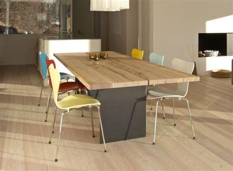 mesas de comedor modernas de madera maciza m 225 s de 50 ideas mesas comedor modernas madera maciza tix mobimex archiexpo