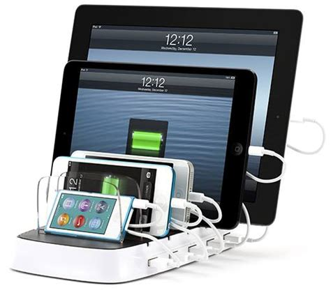 multi charging station griffin s multi device charging station now shipping