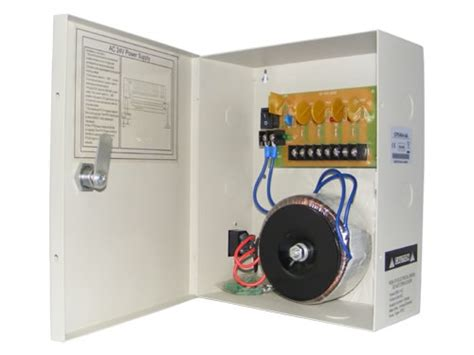 Power Supply Cctv 4 Channel Sentral Box 4 channel cctv security power supply box 24v dc 10 s