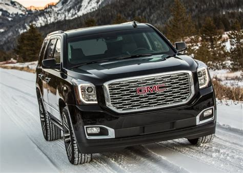 2020 gmc redesign 2020 gmc yukon redesign changes 2019 suvs