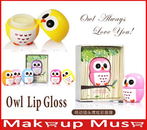 Lipgloss Rasa Buah owl lip balm beli murah owl lip balm lots from china owl
