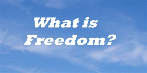 Freedom Is what is freedom ukrainian catholic church