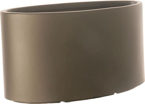 Oblong Planter by Oval Town Fiberglass