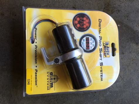 auto meter sport comp tach shift light and trans temp