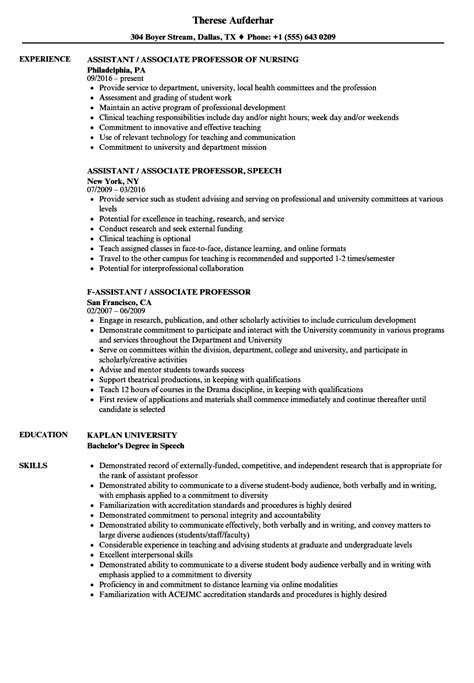 sample resume for assistant professor in computer science awesome 15
