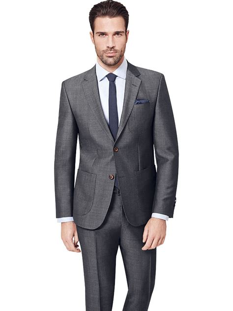 Tie For Light Grey Suit zegna grey suit with patch pockets tom murphy s formal