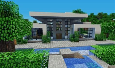 minecraft modern house designs nice minecraft modern style house minecraft builds pinterest modern