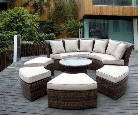 rattan patio furniture sets rattan garden furniture the garden and patio home guide