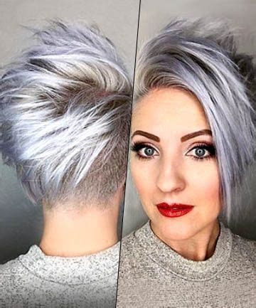 funky silver hair 17 silver hair looks that will make you want to dye your