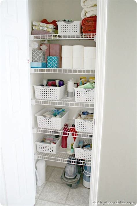 cheap bathroom organizers 42 best images about linen closet organization and