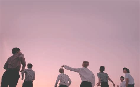 wallpaper bts laptop young forever pink desktop wallpapers wallpaper bts