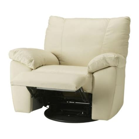 ikea leather recliners vreta swivel reclining armchair ikea soft hardwearing and