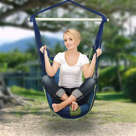swing lifetsyle sorbus hanging rope hammock chair swing seat for any