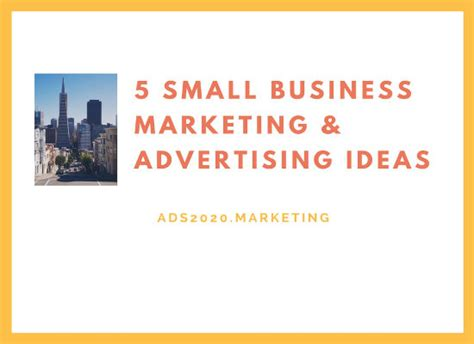 5 small business advertising ideas for online promotion