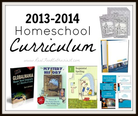 homeschooling homeschooling science curriculum