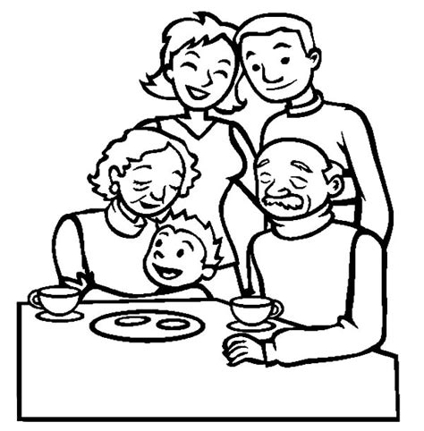 coloring pages of joint family picture of joint family coloring pages batch coloring