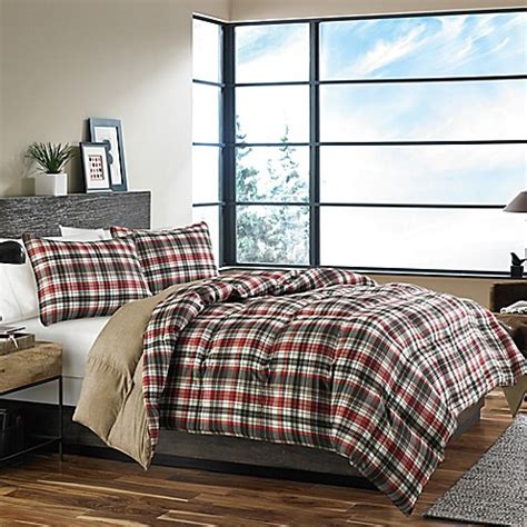 bed bath and beyond astoria eddie bauer 174 astoria comforter set in red bed bath beyond