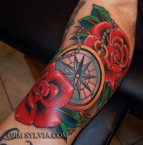 compass tattoo american traditional pin by lyn barlow stemmerman on you can never have too