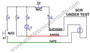 scr tester schematic get free image about wiring diagram