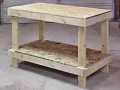 how to build a basic bench woodwork simple plans to build a workbench pdf plans