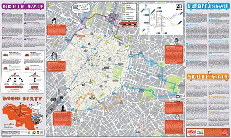 brussels belgium tourism map