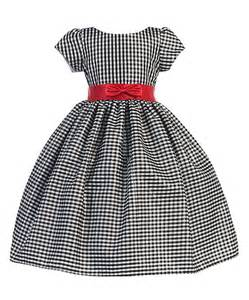 Look at this silver amp red plaid bow dress toddler amp girls on zulily